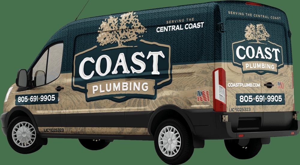 solvang plumber, plumbing solvang, Coast Plumbing | coast plumbing van
